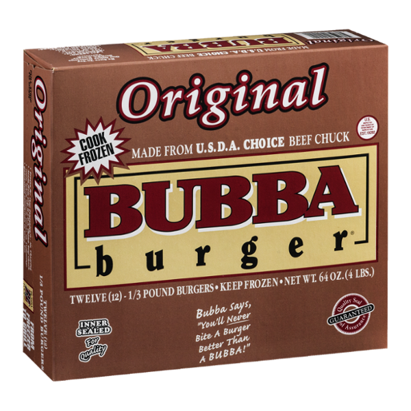 Bubba Burger Original - 12 CT