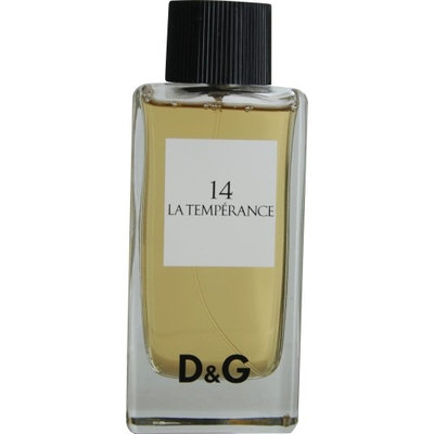 D & G La Temperance 14 by Dolce & Gabbana Eau De Toilette Spray 3.3 oz