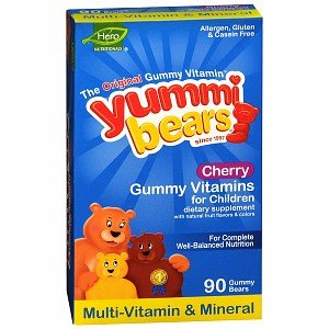 Yummi Bears Multivitamin & Mineral Cherry