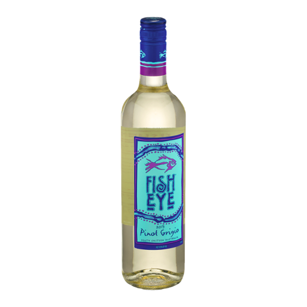 Fish eye pinot grigio 2013 reviews for Best wine with fish