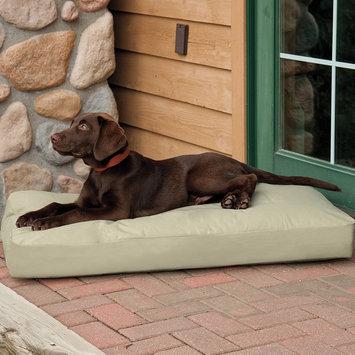 Doctors Foster & Smith Dura Ruff Pet Bed (Beige/Khaki)