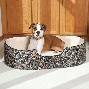 Doctors Foster & Smith Double Support Slumber Oval Pet Bed - 36