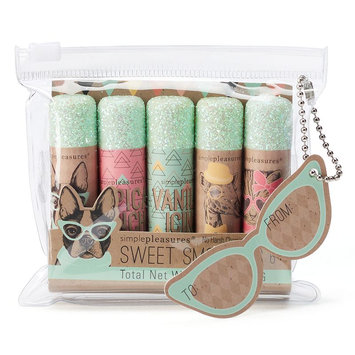 Simple Pleasures 5-pc. Sweet Smooches Lip Balm Gift Set (Blue)
