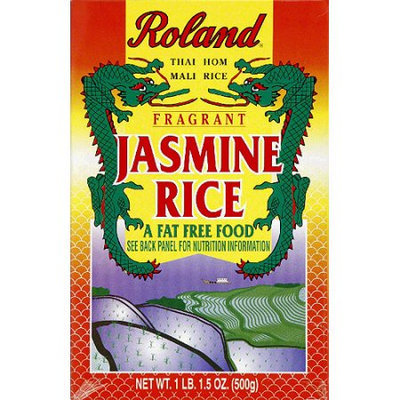 Generic Roland Fragrant Jasmine Rice, 14 oz, (Pack of 12)