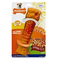 Nylabone Flavor Frenzy Pepperoni Pizza Dog Toy