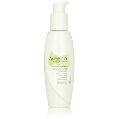 Aveeno Active Naturals Positively Ageless Daily Exfoliating Cleanser With Natural Shiitake Complex