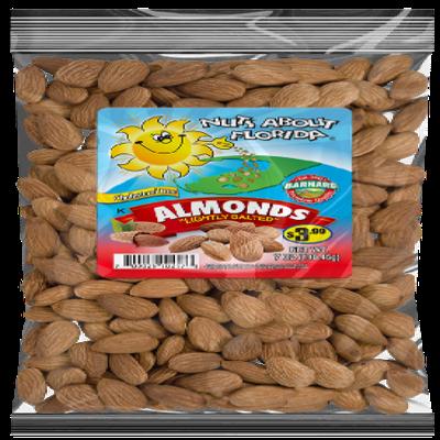 Barnard Almonds Roasted, Salted, 7oz