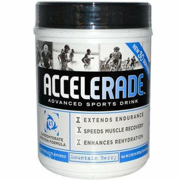 Endurox Accelerade Advanced Sports Drink Mountain Berry 30 Servings