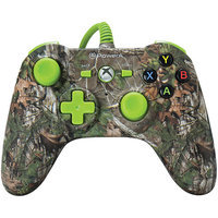 POWER A Xbox One Mini Series Realtree Wired Controller (Xbox One), Xtra Green