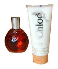 Chloe By Karl Lagerfeld For Women. Gift Set ( Eau De Toilette Spray 3.0 Oz+ Body Lotion 6.8 Oz).