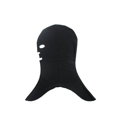 Facekini Black Sun Protection Mask for The Face And Head