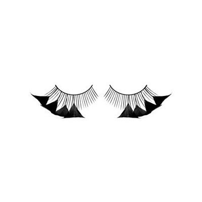 Baci Paradise Dreams Style No.600 Feather Eyelashes with Adhesive Included