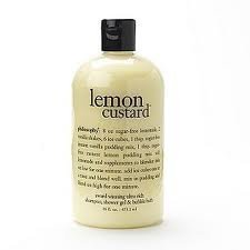 Philosophy Lemon Custard Shampoo Shower Gel and Bubble Bath