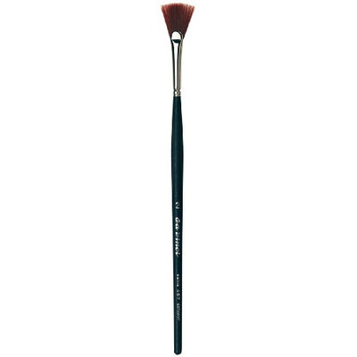 Da Vinci Series 487 Fan Nail Brush for Dusting With Strong Synthetic Fibers