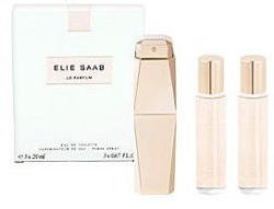 Elie Saab 3 Piece Le Parfum Refill Spray Set for Women