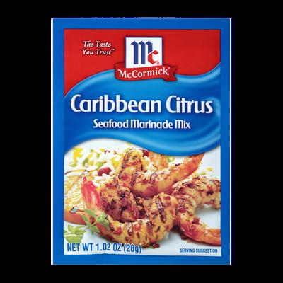 McCormick® Caribbean Citrus Seafood Marinade Mix