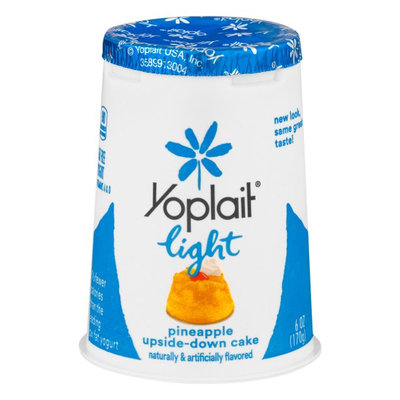 Yoplait® Light Fat Free Yogurt Pineapple Upside-down Cake