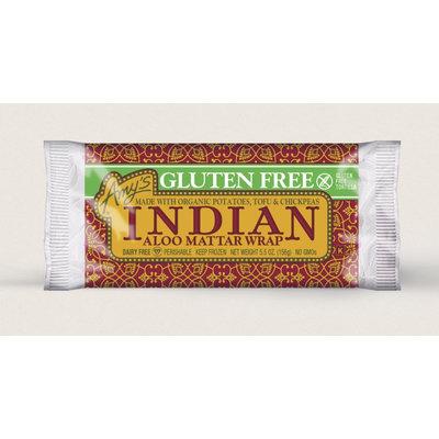 Amy's Kitchen Indian Aloo Mattar Wrap, Gluten Free