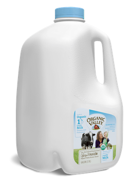Organic Valley® Lowfat 1% Milk, Ultra Pasteurized, Half Gallon