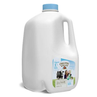Organic Valley® Lowfat 1% Milk, Ultra Pasteurized, Half Gallon