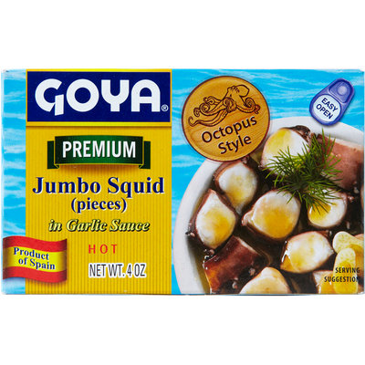 Goya® Jumbo Squid in Garlic Sauce - Hot