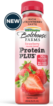 Bolthouse Farms Protein Plus Strawberry Naturally Flavored Shake