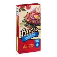 Boca Meatless Burgers Flame Grilled - 4 CT