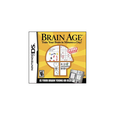 Nintendo Brain Age: Train Your Brain in Minutes A Day