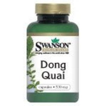Swanson Premium Brand Dong Quai Root 530 mg 100 Caps