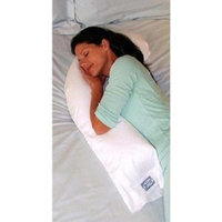 Snoozer Junior Body Pillow in White (Heavenly Down Synthetic Micro-Fiber)