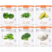 Emergency Essentials Freeze-Dried Vegetable Combo, 6 count