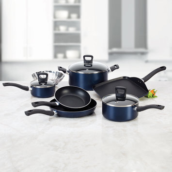 T-fal Corporation T-fal Banquet Blue 10 Piece Set - T-FAL CORPORATION