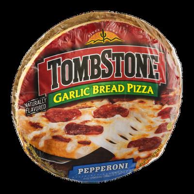Tombstone Garlic Bread Pizza Pepperoni