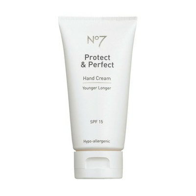 Boots No7 Protect and Perfect Hand Cream SPF 15 - 2.5 oz.