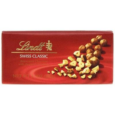 Lindt Swiss Classics Bittersweet Chocolate Chopped Hazelnuts