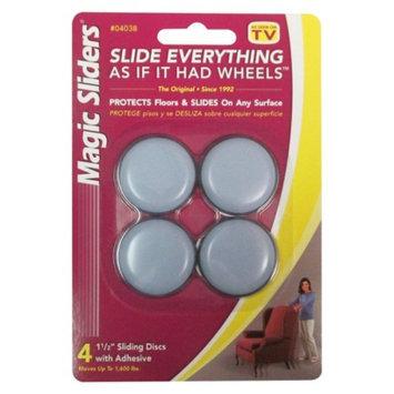 Magic Sliders Sliding Discs with Adhesive 4-ct.