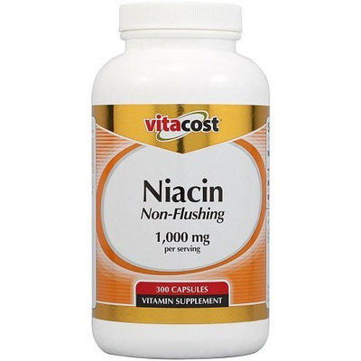 Vitacost Brand Vitacost Niacin Non - Flushing -- 1000 mg per serving - 300 Capsules