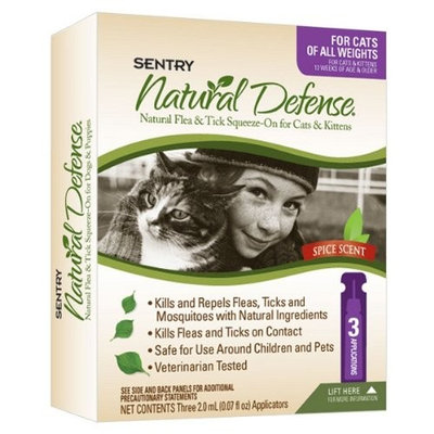 Sentry Flea & Tick Squeeze-On For Cats/Kittens