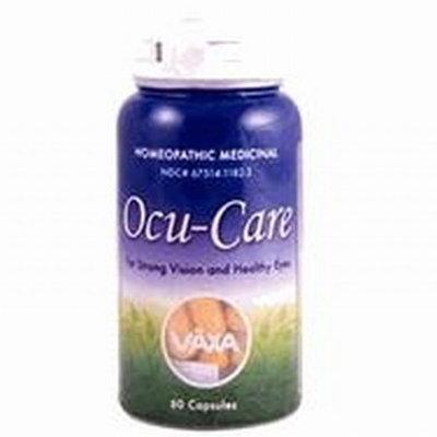 Vaxa Ocu Care Vaxa Homeopathic Remedy Formula for Eye, Ocu-Care, 60 Count