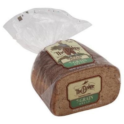 The Baker 7-grain 20 Oz Bread 2 Packs
