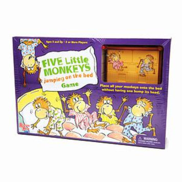 Five Little Monkeys Jumping on The Bed Game Ages 3+, 1 ea