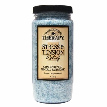 Village Naturals Therapy Stress & Tension Relief Mineral Bath Soak