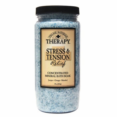 Village Naturals Therapy Stress & Tension Relief Mineral Bath Soak