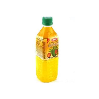 OKF Aloe Vera King Juice Mango, 16.9-Ounce (Pack of 20)