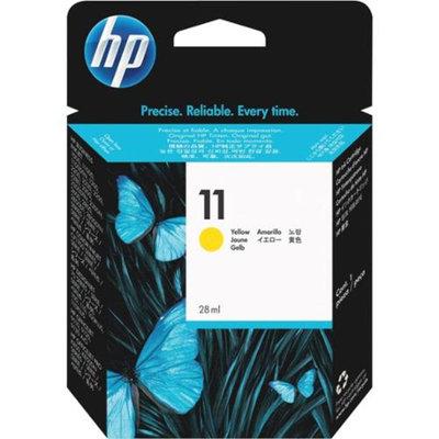 HP C4838AM NO.11 Yellow Original Ink Cartridge - Yellow - Inkjet - 1750 Page - 1 Each