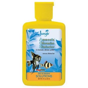 Jungle NL002 Ammonia Chloramine Eliminator Liquid, 2-Ounce, 59-Ml