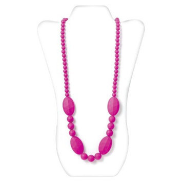 Nixi by Bumkins Ellisse Silicone Teething Necklace - Pink