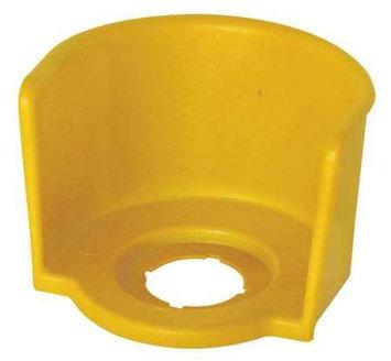 EATON M22-XGPV Yellow Guard Ring for E-Stop,22mm, Yellow