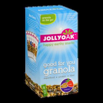 Jolly Oak Granola Almond Butter & Jelly Sandwich