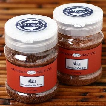 Artisan Alaea Volcanic Red Sea Salt - Coarse Grind (9.5 ounce)